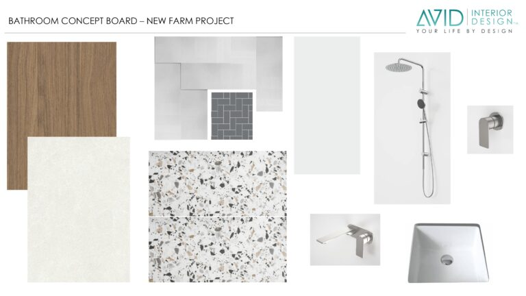 Farm Project | Retro Vibe Tile | Avid Interior Design
